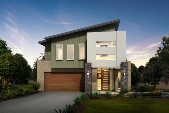 Dise o y planos de casas de dos pisos con ideas para for Diseno de fachadas minimalistas