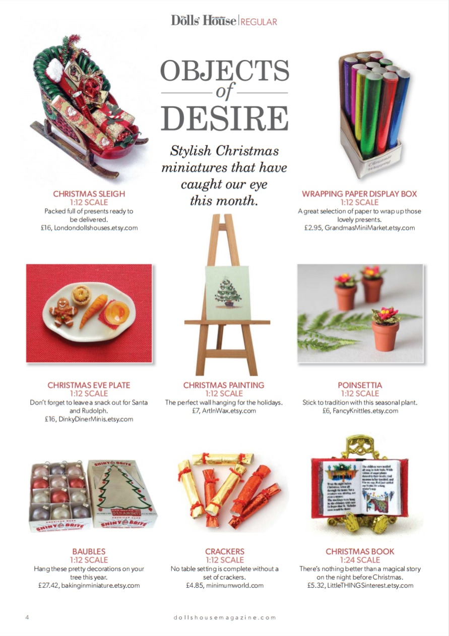 The Dolls' House Magazine December 2016 Issue