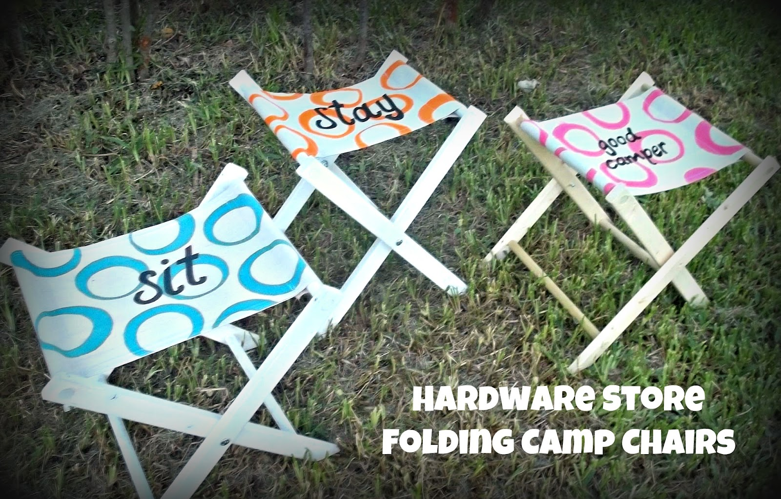 Craft Goo s How To Make a Folding Camp Chair