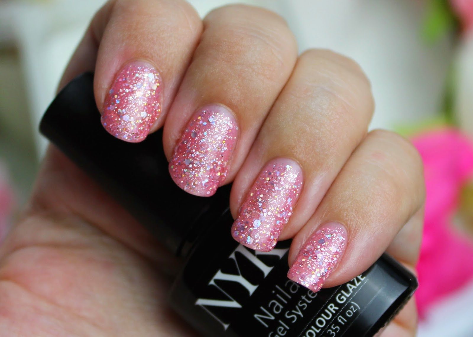 flutter and sparkle: Nails: NYK1 Secrets Nailac at home professional