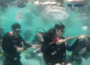 diving tarik tambang