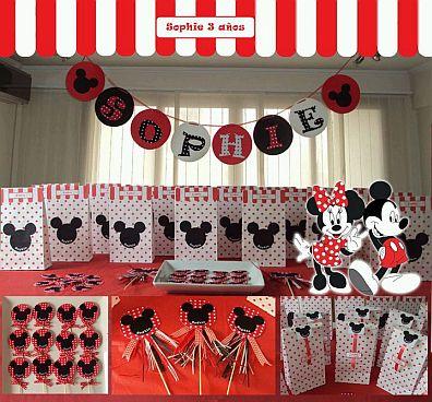 Ideas Para Fiesta De Mickey Mouse