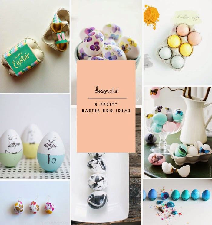 8 Fresh + Pretty Ways to Decorate Easter Eggs