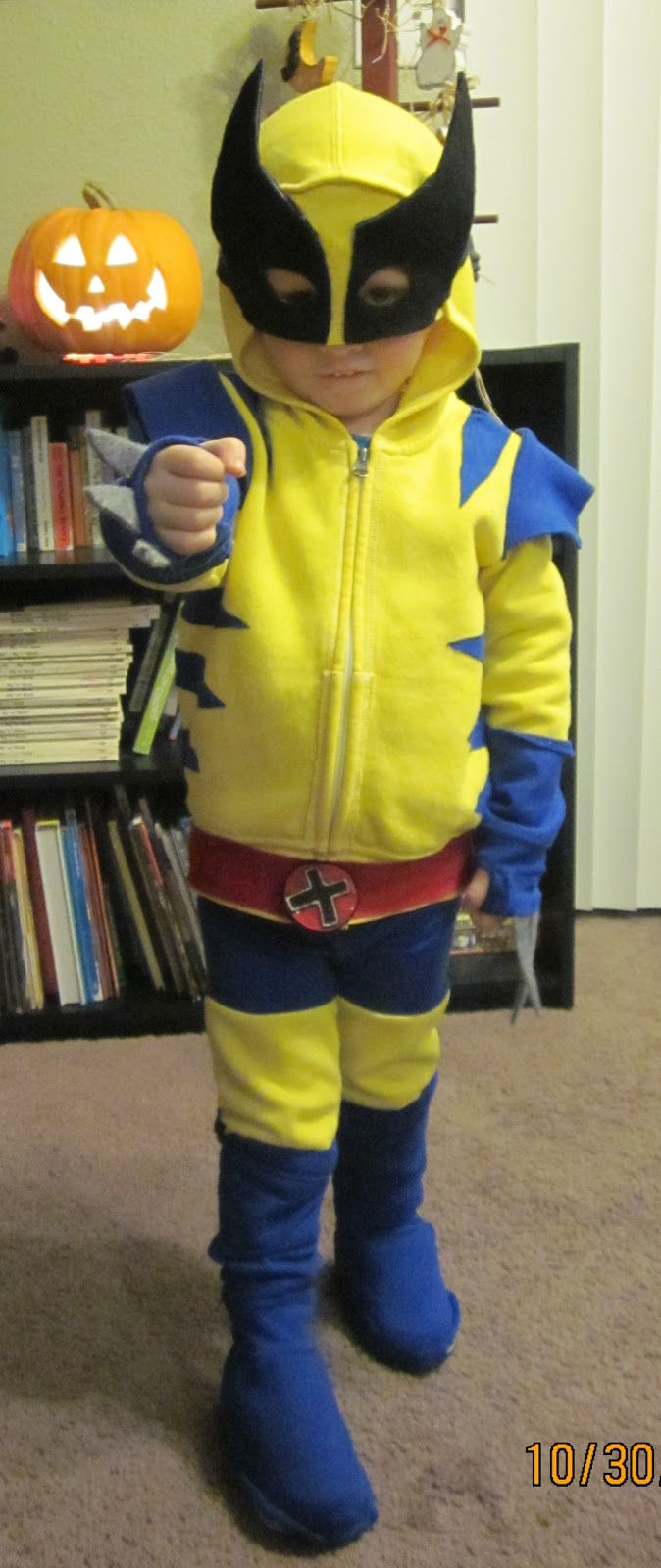 : wolverine costume homemade  - Germanpascual.Com