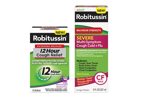 Robitussin relief