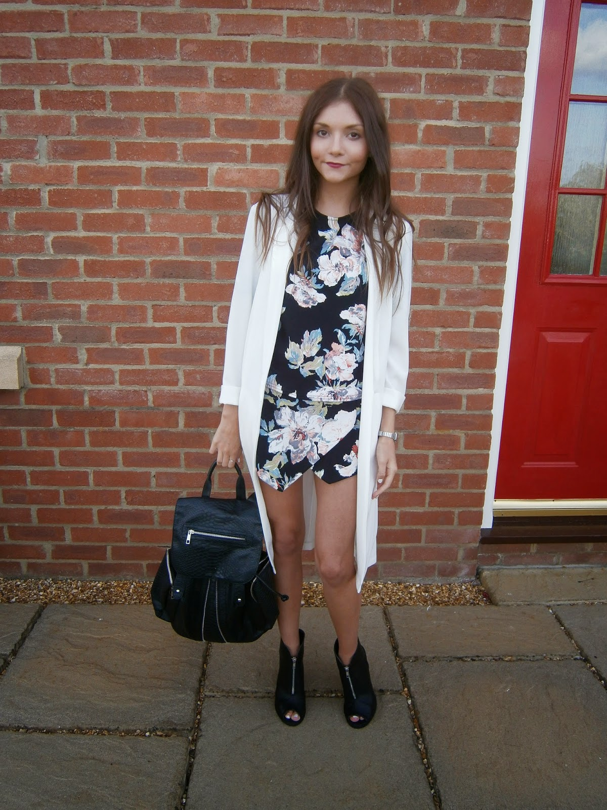 new look floral co-ord street style fashion blogger