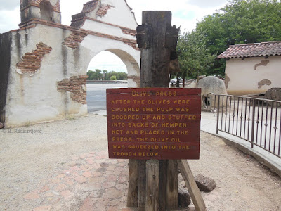 Olive Press at Mission San Miguel, California. © B. Radisavljevic