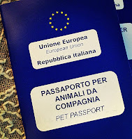 Flying Dogs To Italy : Our EU Pet Passports