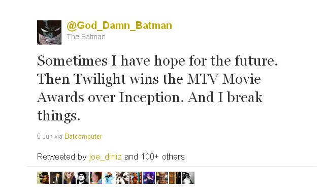 God_Damn_Batman from June 5, 2011