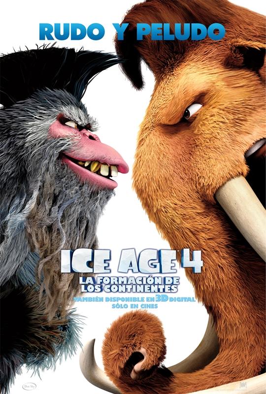 la era de hielo 4 1 ( Nuevo) La Era de Hielo 4, Latino (HD)(DVD)