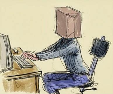 إخفاء الهوية على الإنترنت: