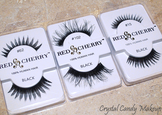 Commande Madame Madeline (Faux-cils) - Falsies - Red Cherry #62 #102 #15