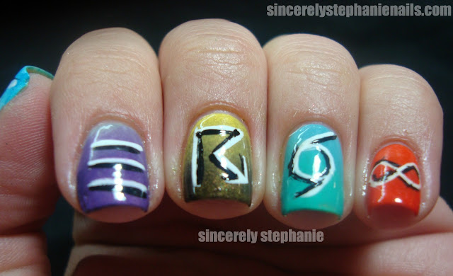 synoptic weather code nail art