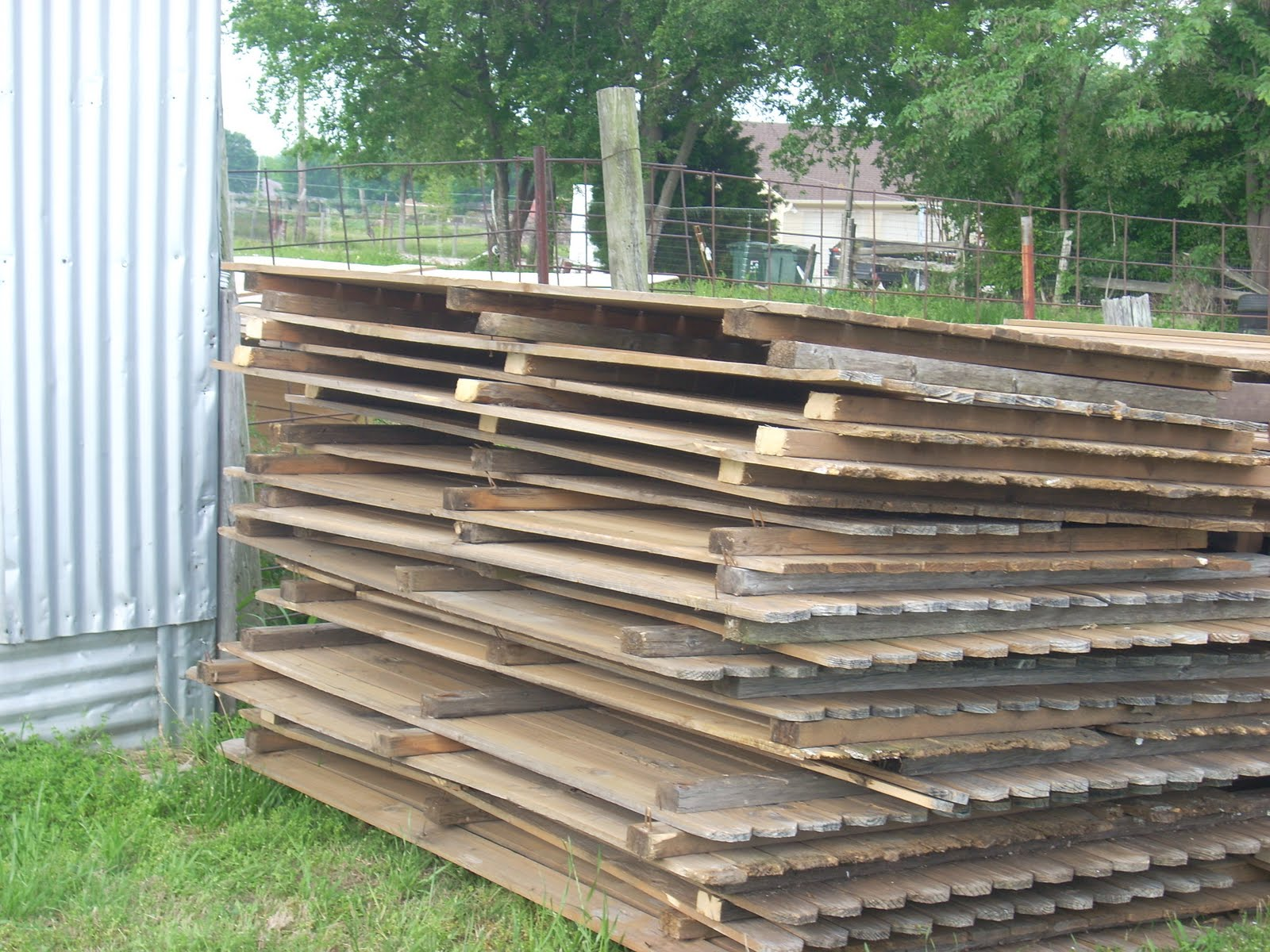 Superb img of  Wylie Texas: GONE Pine Fence Panels 145ft of 6' tall x 8' wide with #628249 color and 1600x1200 pixels
