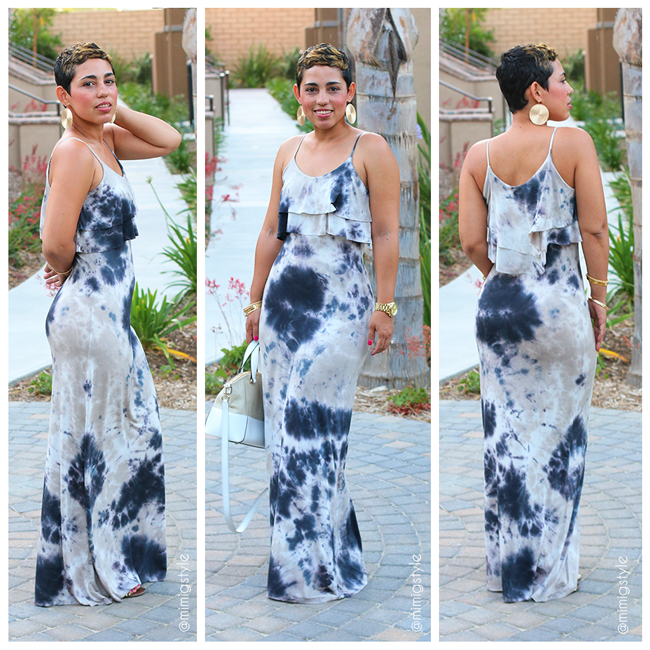 My Tie Dye Maxi Dress Fashion Lifestyle And Diy