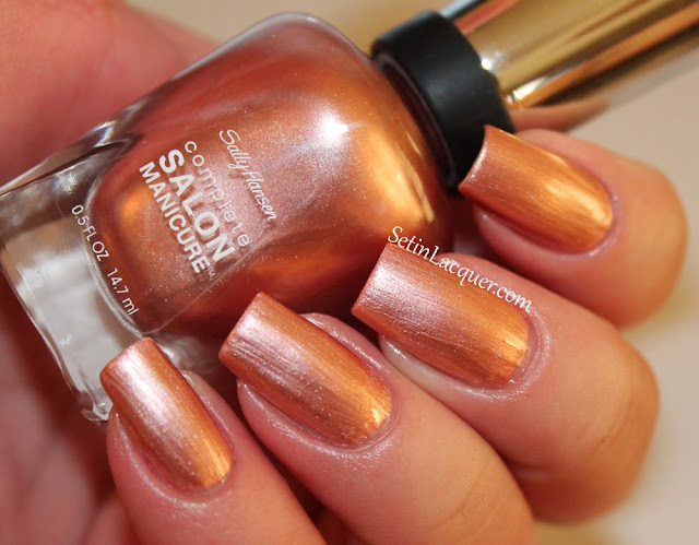 Sally Hansen Gold Roses