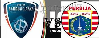 Pelita Bandung Raya (PBR) vs Persija Jakarta