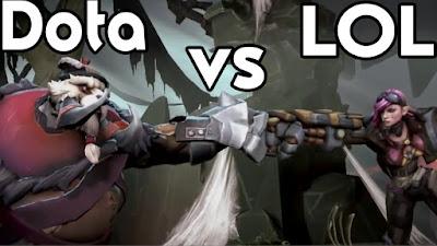 Lebih Bagus Mana Antara League of Legends Dengan Dota 2?