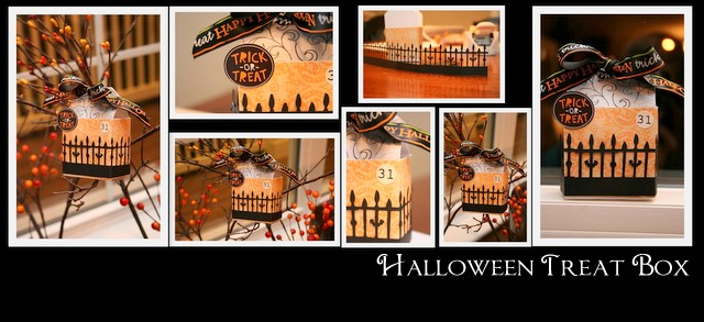 Halloween Treat Box Tutorial