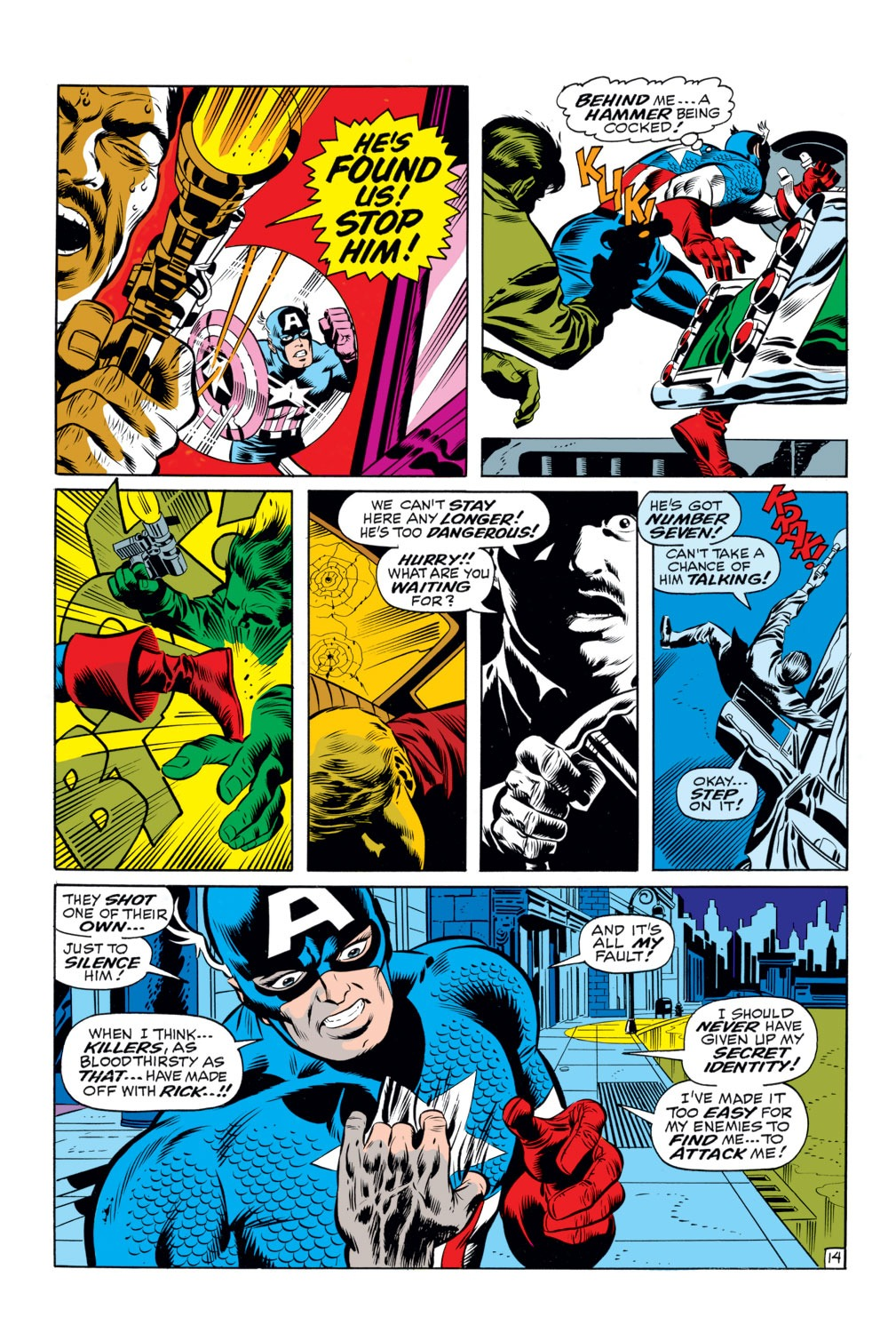 Captain America (1968) Issue #111 #25 - English 13