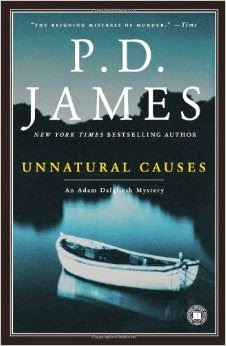 Unnatural Causes (Published in 1967) - Authored by PD James - Killed by his own manuscript