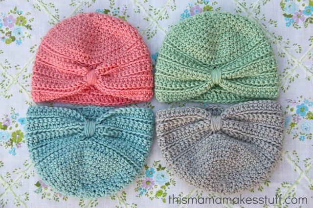 tangled happy: Crochet Baby Turban