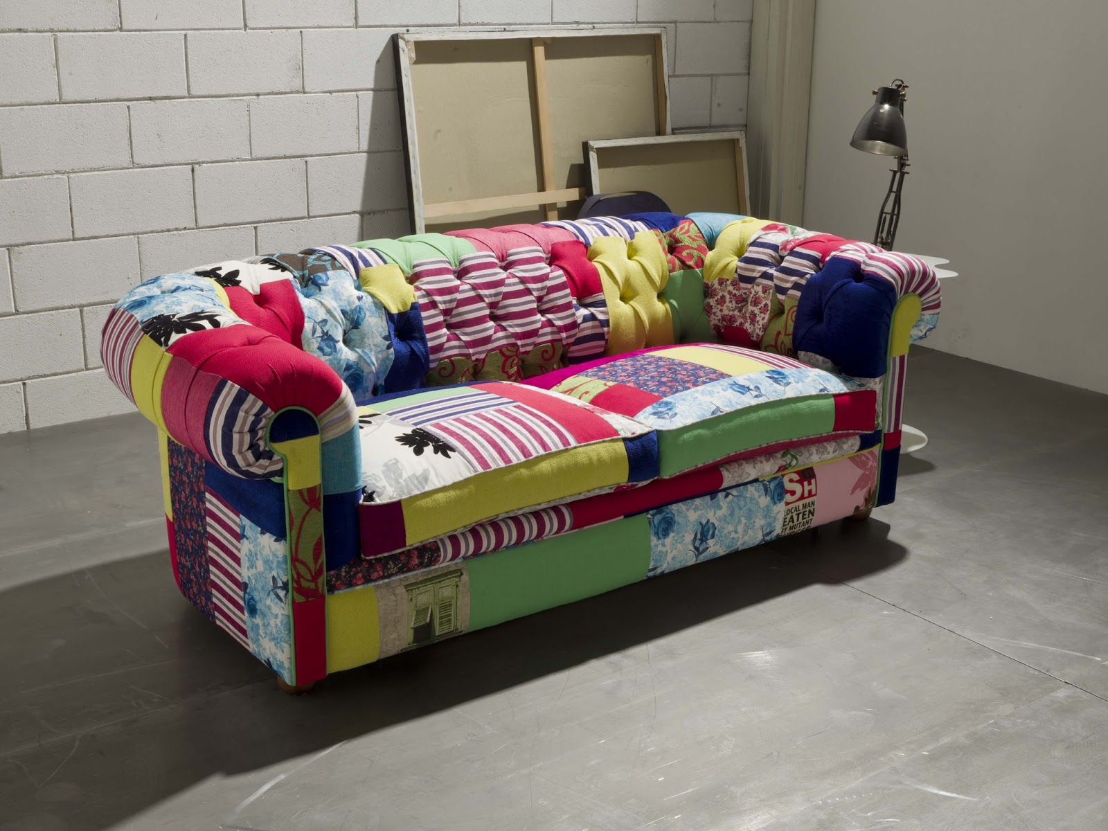 Divano Letto Patchwork : Santambrogio salotti: produzione e vendita di divani e letti anche