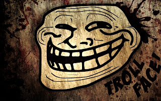 Laughing Trollface Funny HD Wallpaper