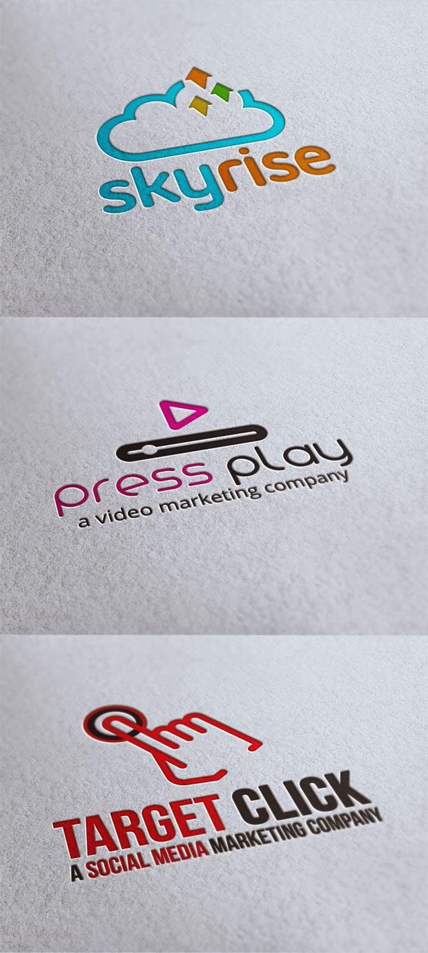 3 Social Media Logo Templates