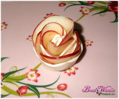 Cara Cara Buat Apple Roses Puff Desert. Cara Gulung Puff Epal Bunga Ros. Bahan Bahan Untuk Buat Desert Epal Bunga Rose