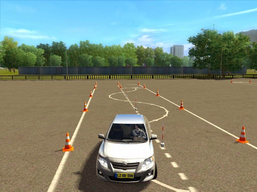 download city car driving simulator 2009