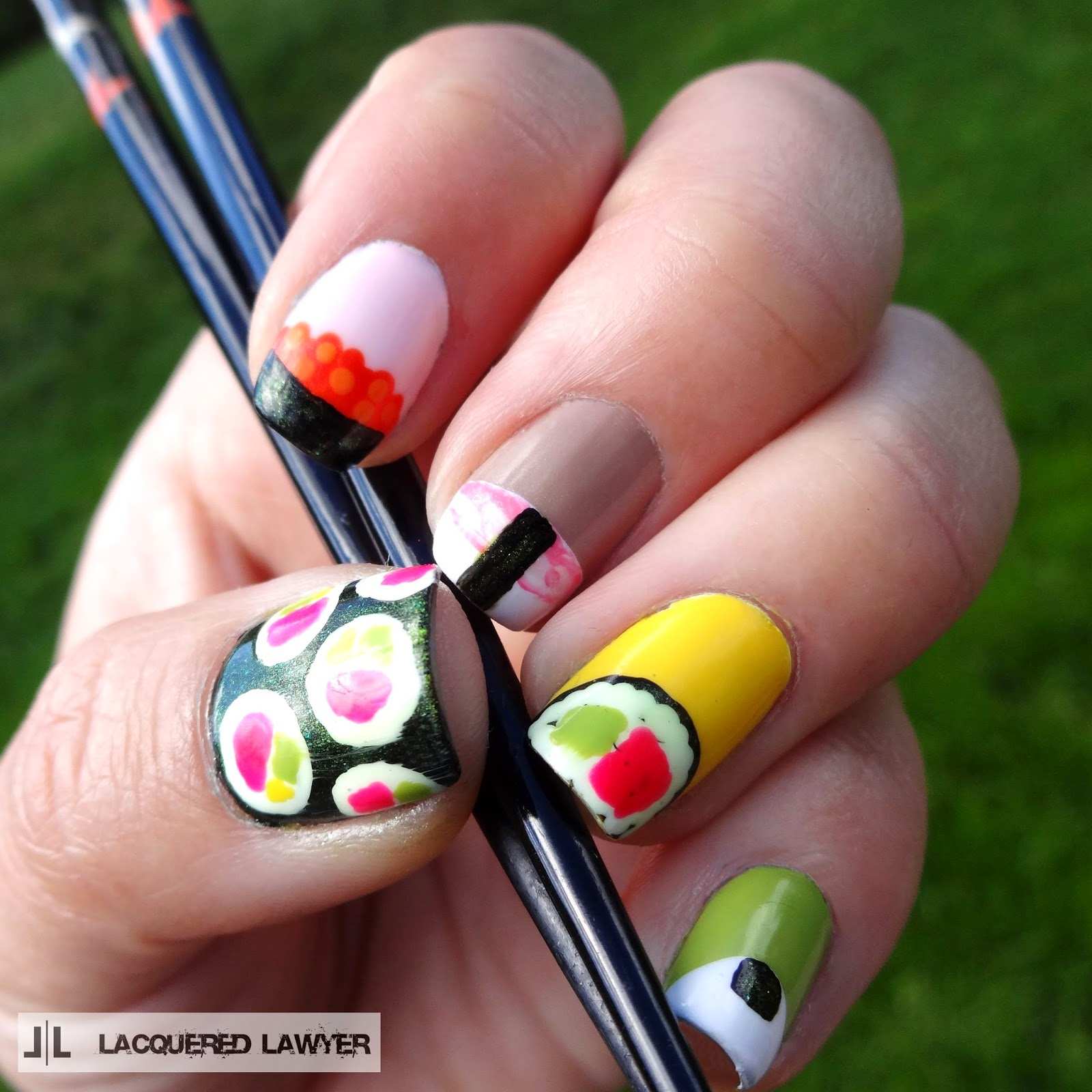 Lacquered Lawyer | Nail Art Blog: That\'s How I Roll