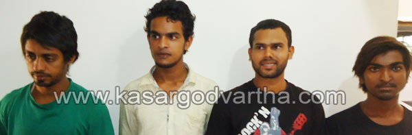 Arrest, Murder-Attempt, Bike, CI, Attack, Case, Police, Kasaragod, Kerala, Kerala Vartha, Kerala News.