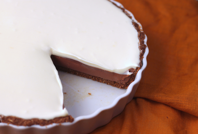 Healthy Chocolate Pie - Desserts with Benefits