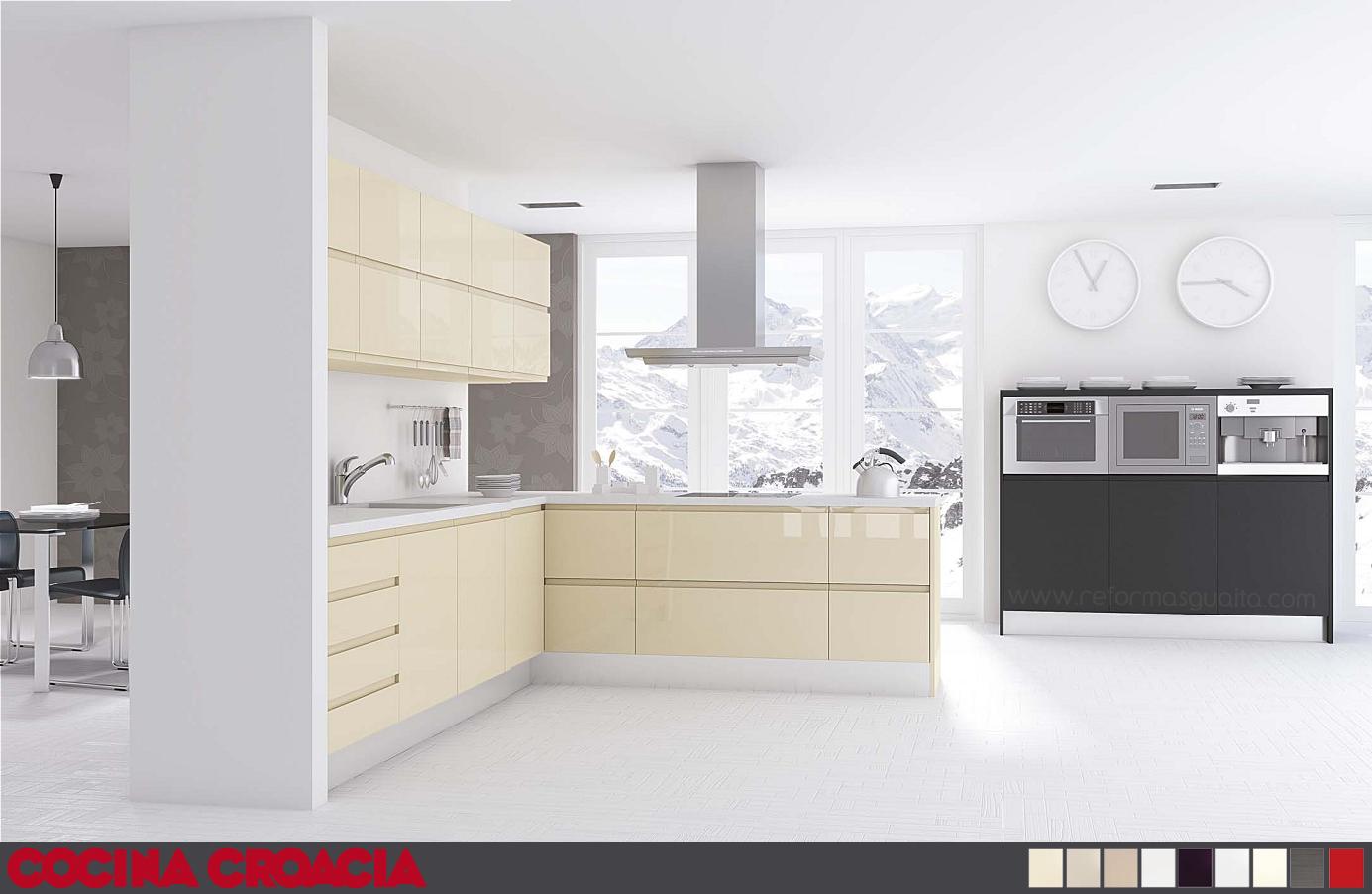 Puertas de cocina sin tirador - Tiradores puertas cocina ...