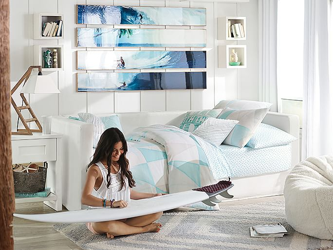 40 girls 39 bedroom design ideas alexander gruenewald for Surfing bedroom designs