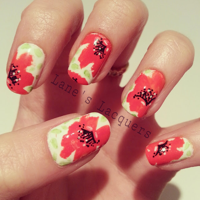 armistice-day-poppy-nail-art
