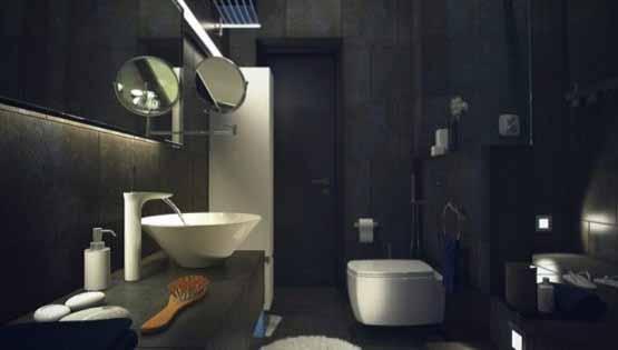 gaya model rumah casual, model interior desain