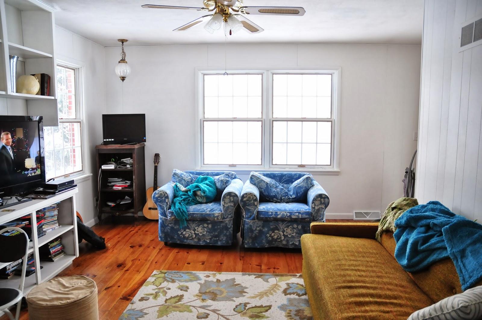 plum tree place: My Living Room
