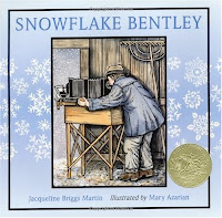 bookcover of Snowflake Bentley  by Jacqueline Briggs Martin