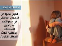 مدونة سامي سهيل دراسة: إهمال الأطفال عاطفياً قد يصيبهم بالسكتات الدماغية