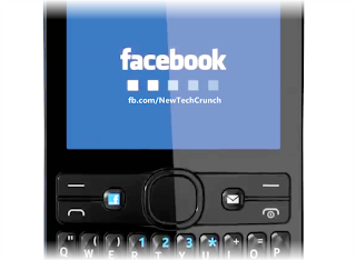 Nokia Asha 205 facebook Button