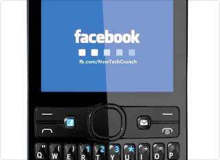 Nokia Asha 205 facebook Button