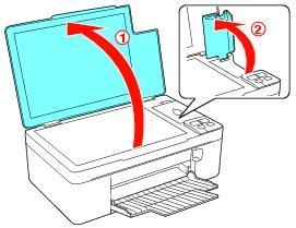 cambiar cartucho impresora epson