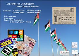 CONFERENCIA- LOS MEDIOS DE COMUNICACIÓN EN EL CONFLICTO SAHARAUI