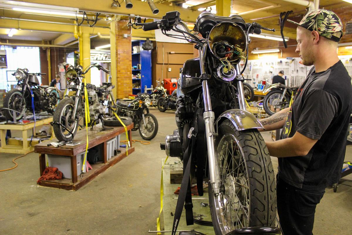 Skidmark Garage