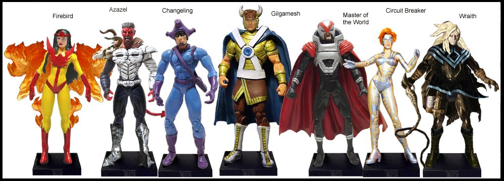 <b>Wave 47</b>: Firebird, Azazel, Changeling, Gilgamesh, Master oftheWorld, Circuit Breaker, Wraith