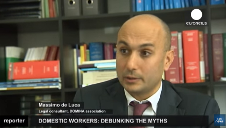 Reportage Euronews sul Lavoro Domestico