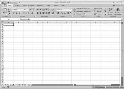 Entorno de Trabajo Excel 2007