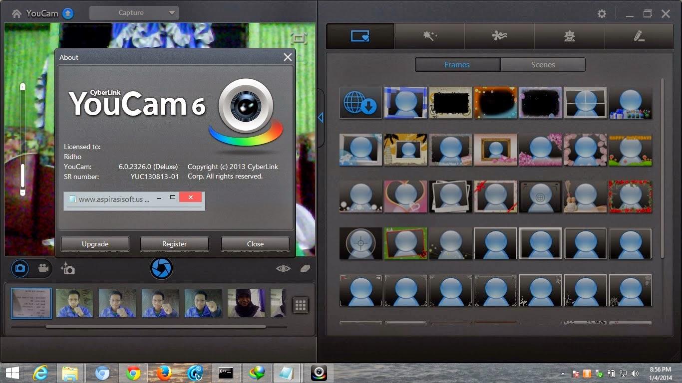 Download Software CyberLink YouCam 6.0.2326.0 Deluxe Full Crack Terbaru